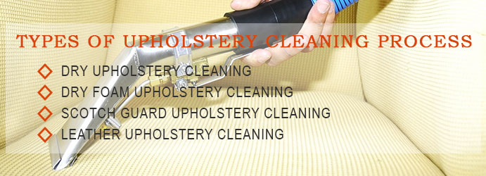 Upholstery Cleaning The Range