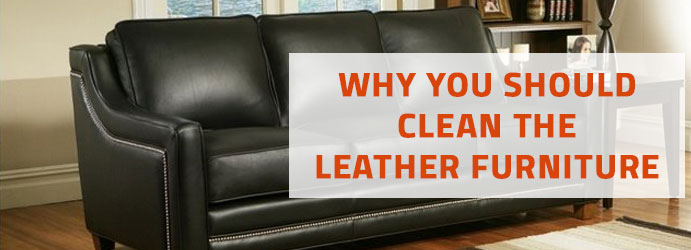 Clean the Leather Furniture